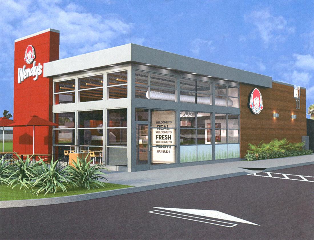 Wendy's building rendering
