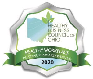 Healthy Business Council of Ohio 2020 Healthy Workplace Award