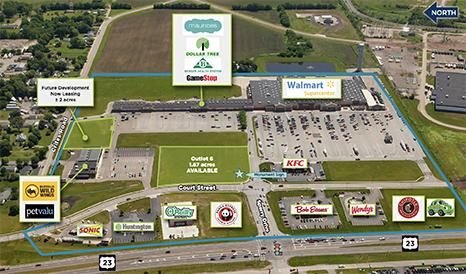 Land available at Circleville Plaza