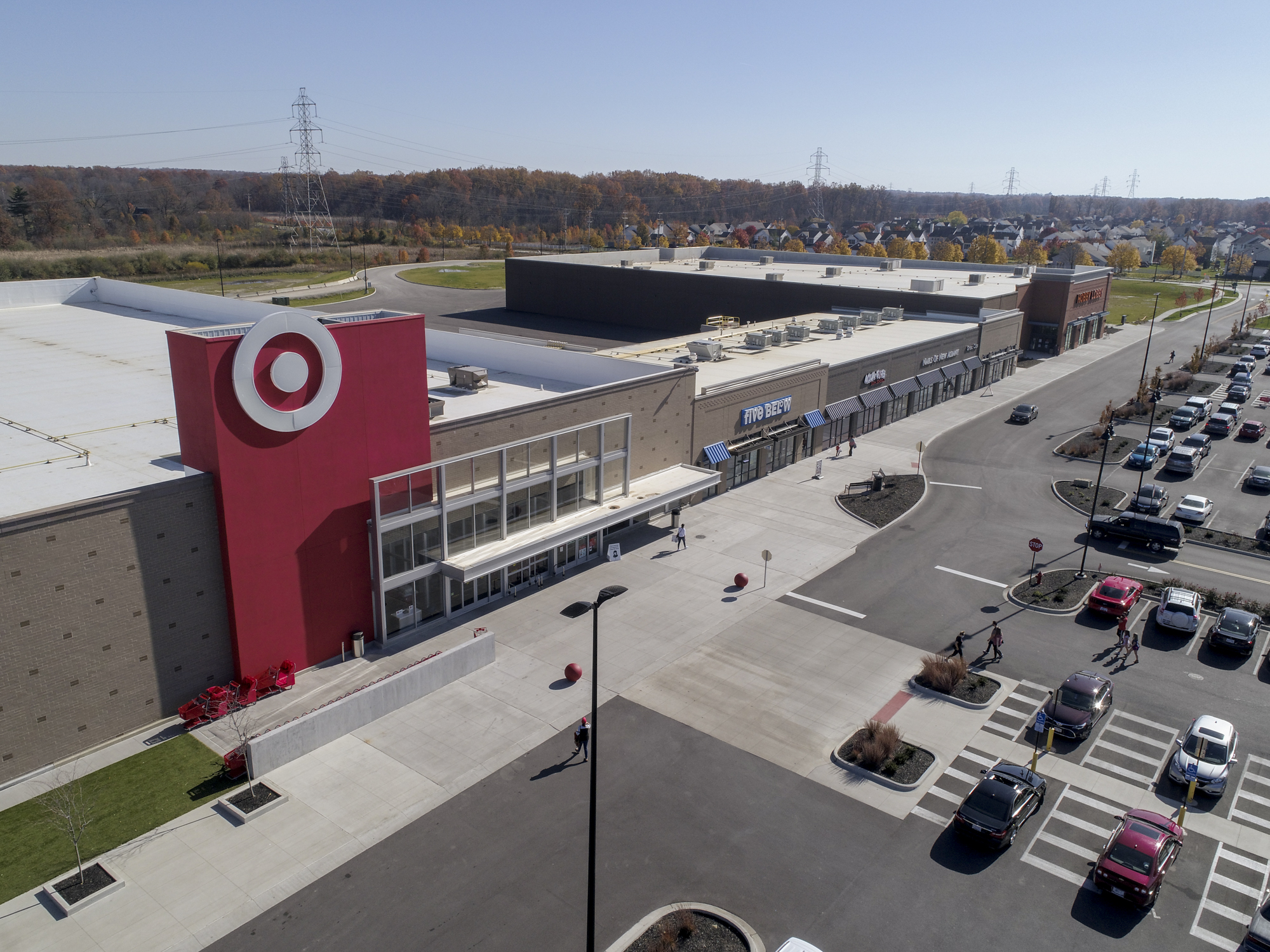Target at Hamilton Quarter Phase 1 Opening