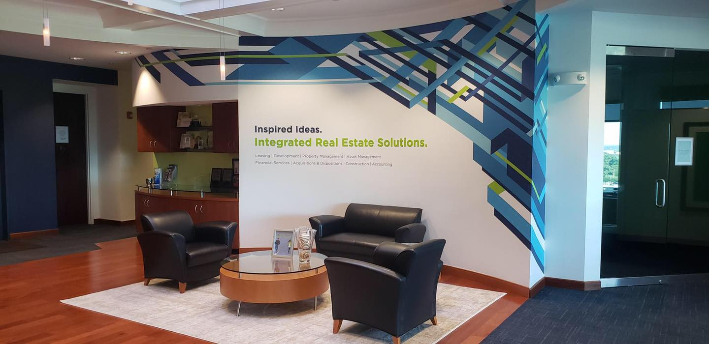 We have a new look! A peek into the CASTO interior re-brand at our Corporate office