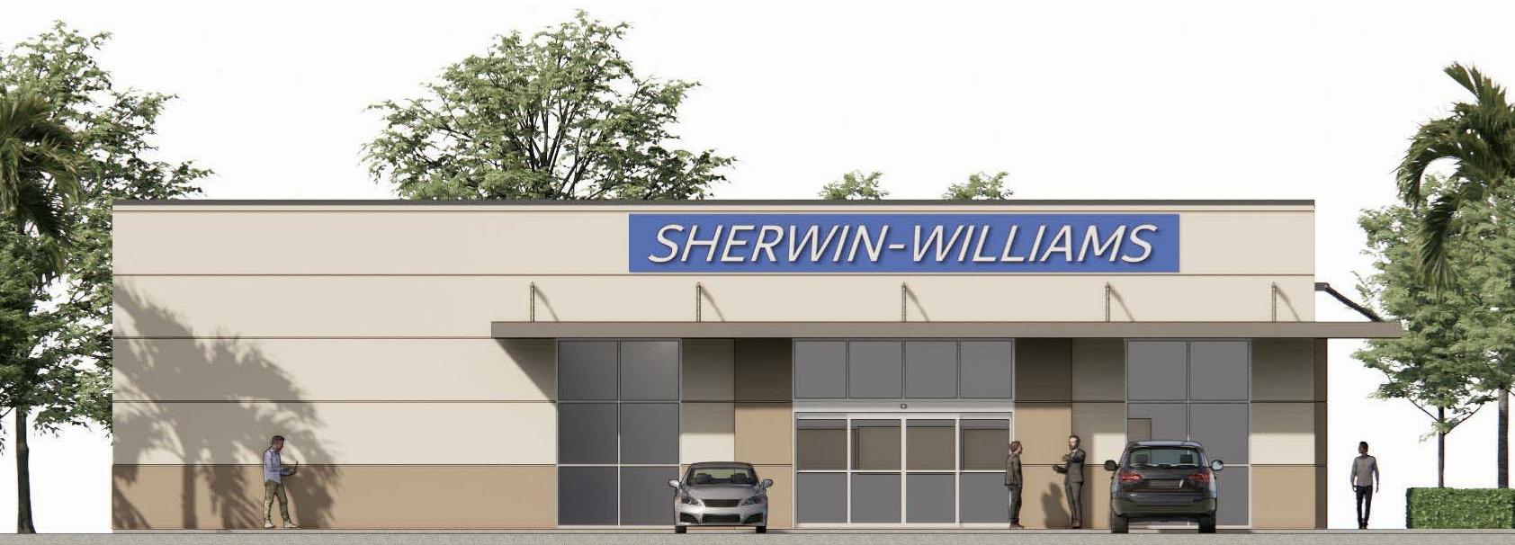 Sherwin Williams Rendering 3