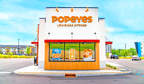 Popeyes at Hartwell Village