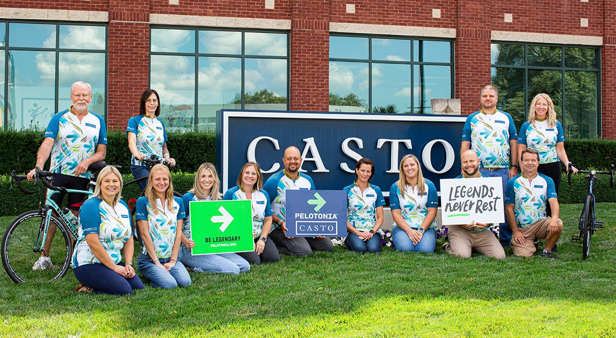 CASTO participates in Pelotonia